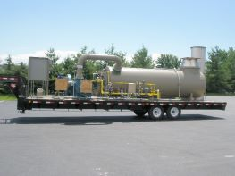 Portable Thermal Oxidizer for Tank Degassing