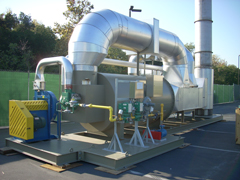 used regnerative thermal oxidizer