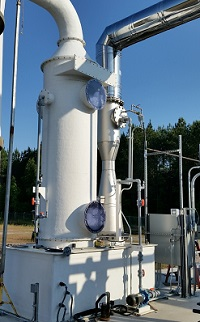 Close-up: Chlorine Scrubber System