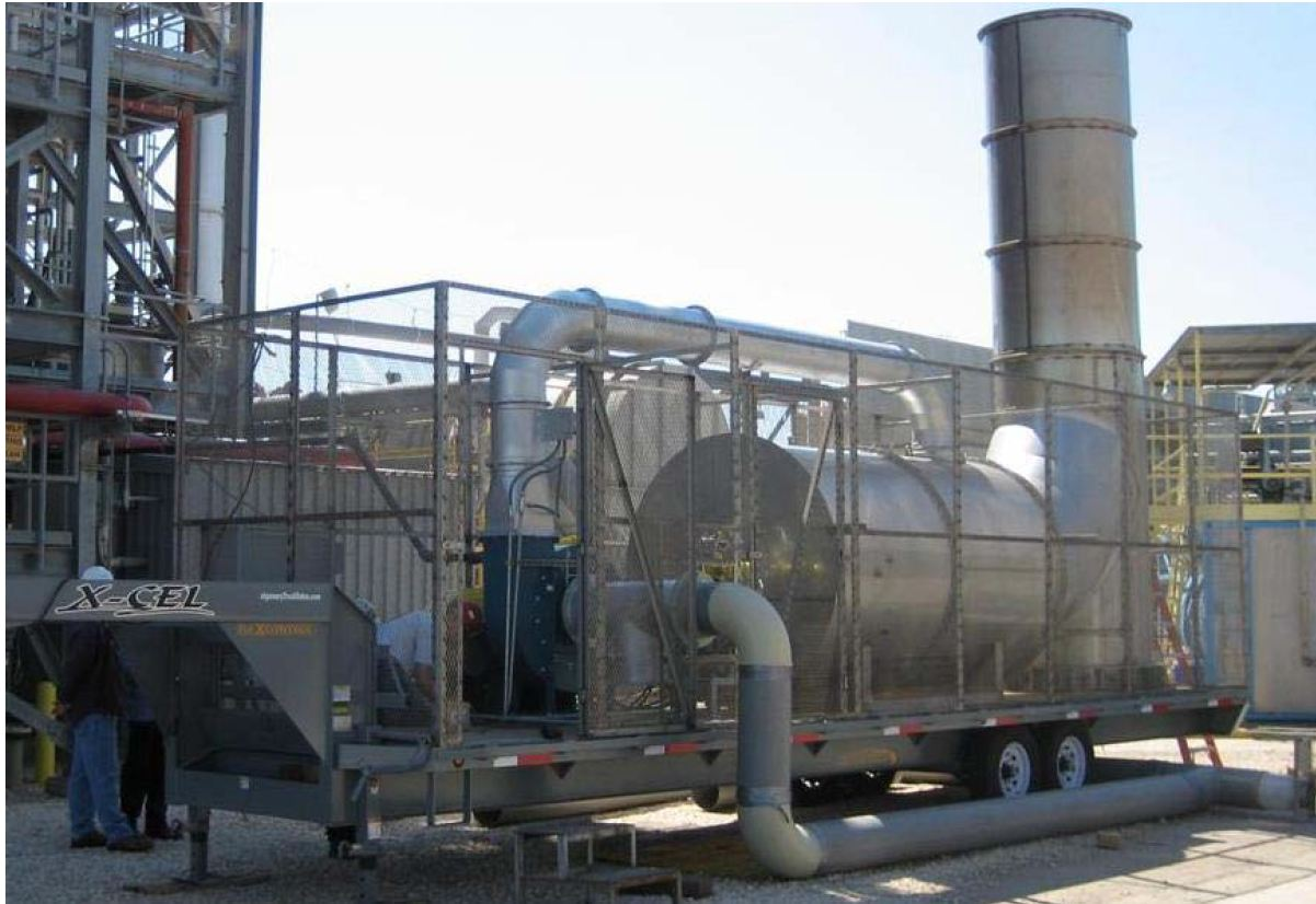 Rental Thermal Oxidizer TO-4500